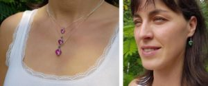 Jewellery charged with Spiritual Light